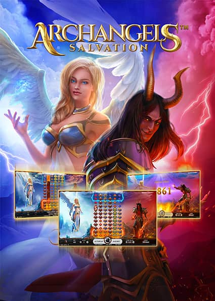 Try Archangels: Salvation Kolikkopeli Now!