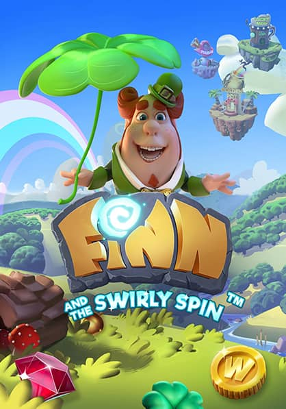 Try Finn and the Swirly Spin Slot Now!