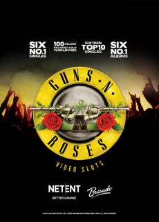 Try Guns n Roses Video Slot Now!