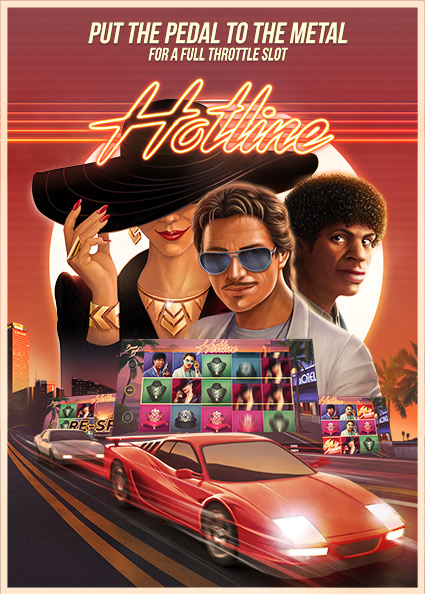 Try Hotline Casino Slot Now!