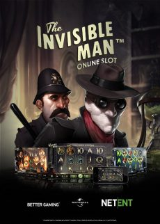 Try The Invisible Man Kolikkopeli Now!