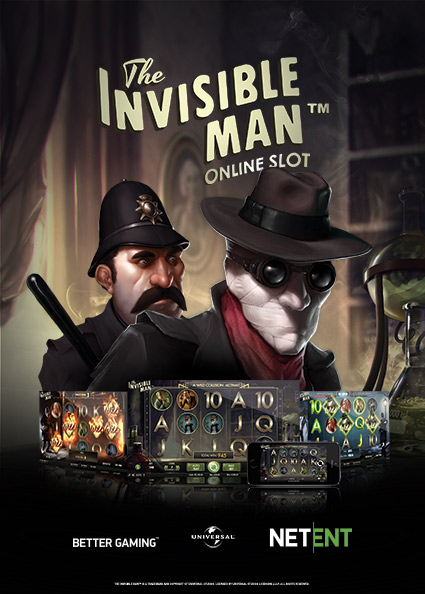 Try The Invisible Man Tragaperras Now!