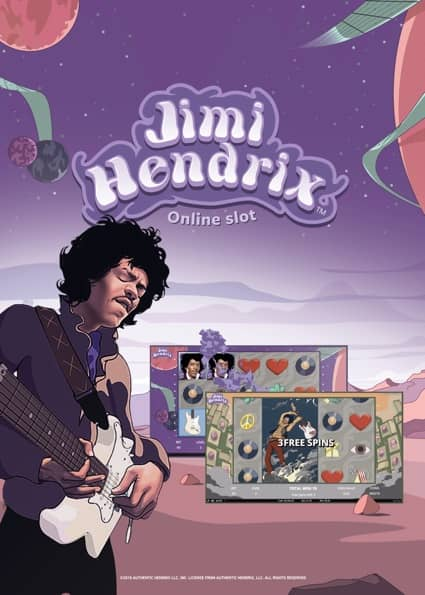 Try Jimi Hendrix Tragaperras Now!