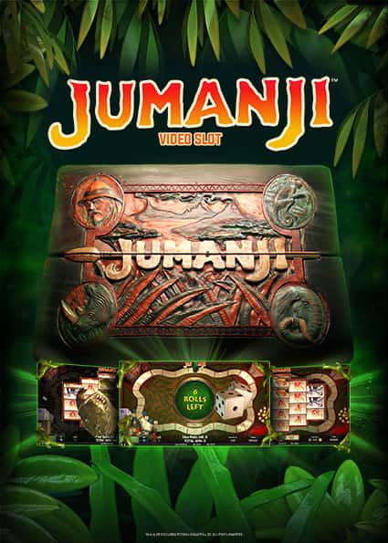 Try Jumanji Casino Slot Now!