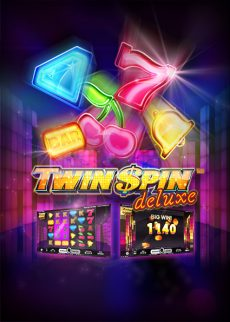 Try Twin Spin Deluxe Video Slot Now!