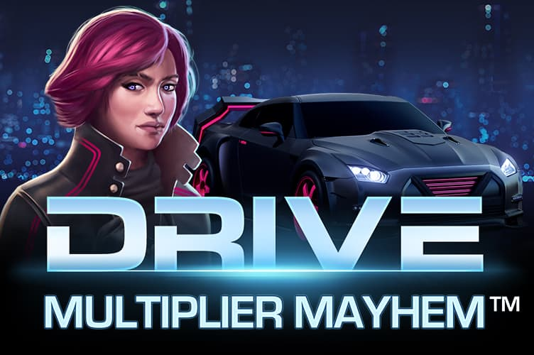 Видео слот Drive: Multiplier Mayhem