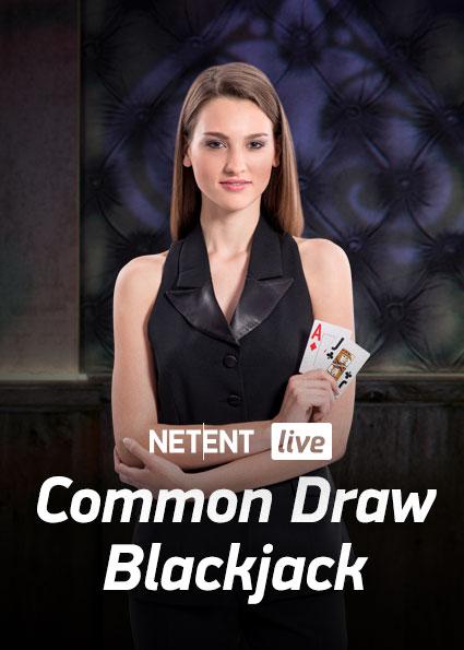 Try Live Casino Common Draw Blackjack Now!