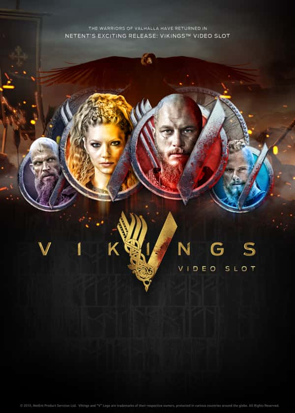 Try Vikings Video Slot Now!