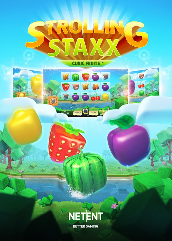 Try Strolling Staxx Video Slot Now!