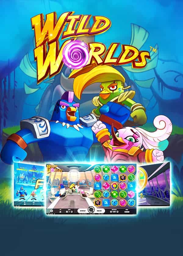 Try Wild Worlds Tragaperras Now!