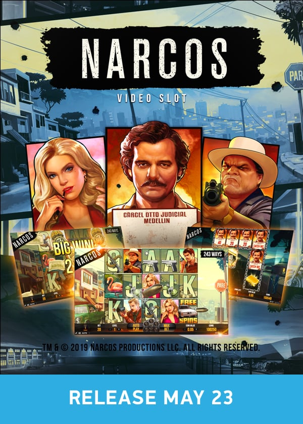 Try Narcos Videoslot Now!
