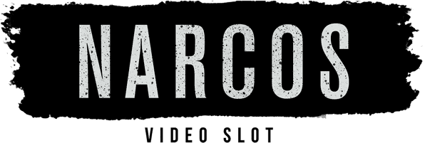 narcos video slot logo