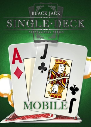 Try Blackjack Single Deck (Mobile Only) Now!