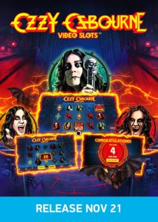 Try Ozzy Osbourne Video Slots Now!