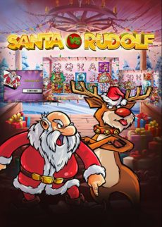 Try Tragaperras Santa vs Rudolf Slot Now!