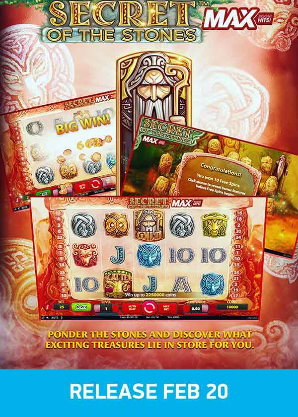 Spiele Secret Of The Stones MAX - Video Slots Online