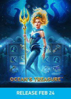 Try Ocean's Treasure Slot Now!