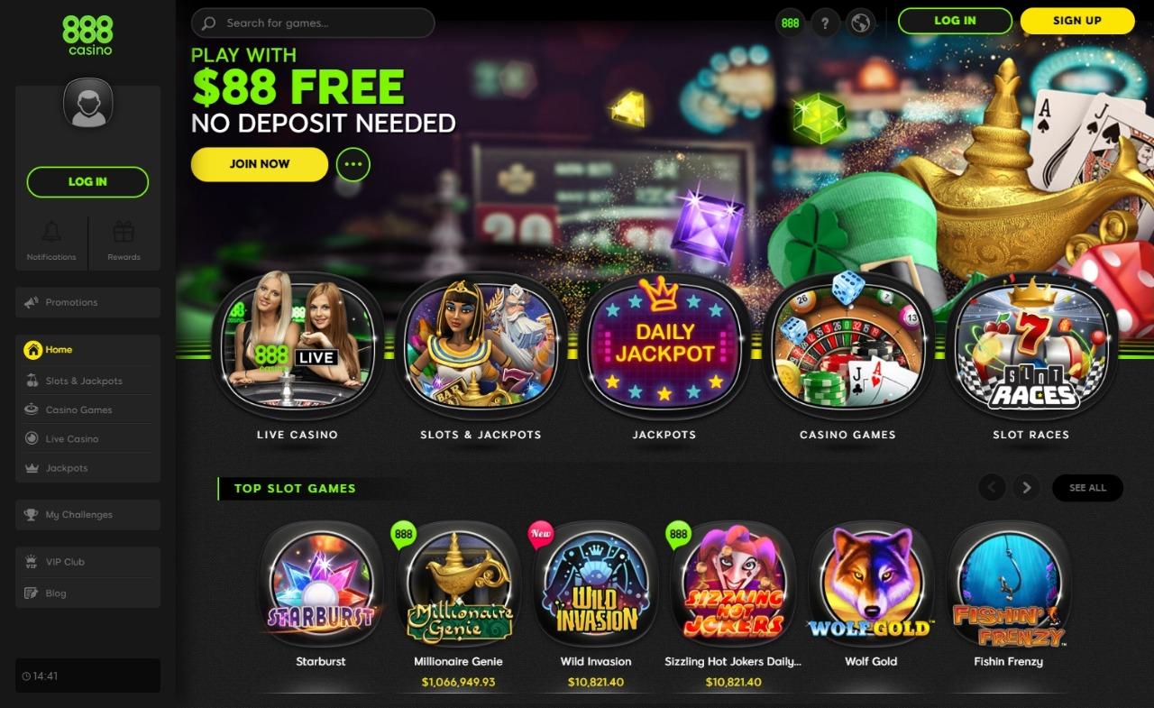 888 Casino Netent