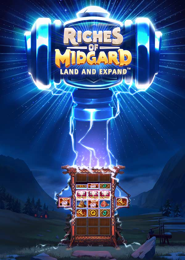 Try Riches of Midgard: Land and Expand Slot Now!
